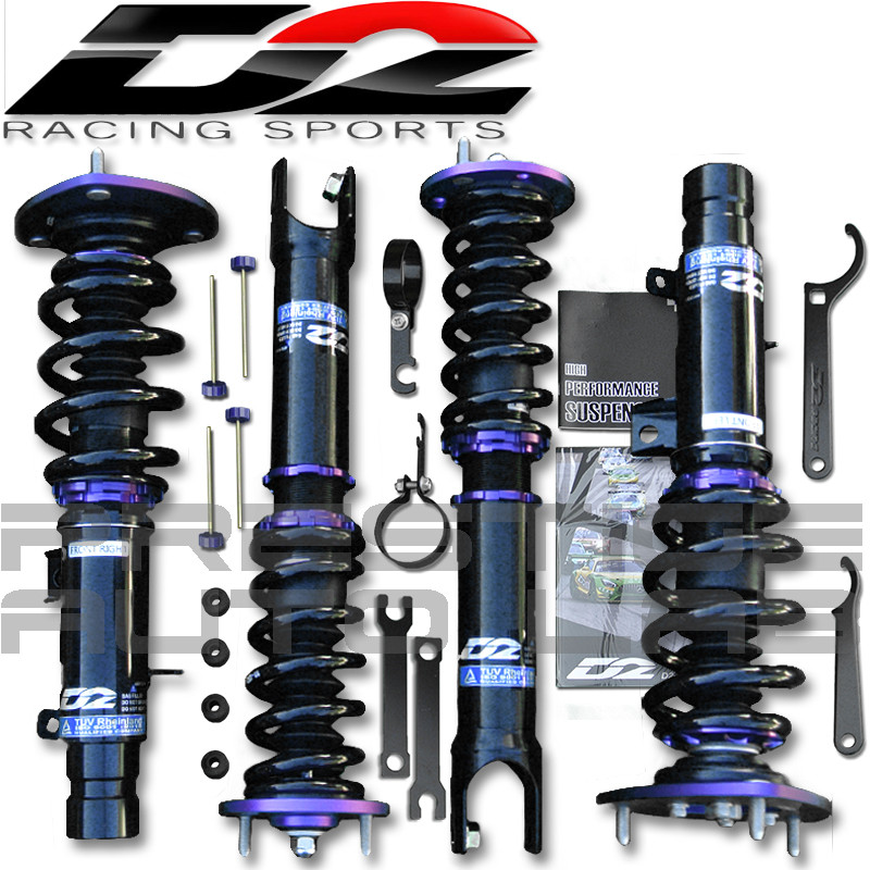 Closed D2 Coilovers 2015 Acura Tlx 2013 Honda Accord: D2 Racing RS Coilovers Kit For Honda Accord 2013