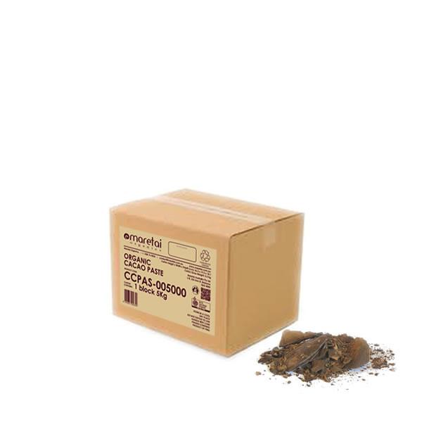 5Kgs Raw Organic Cacao Paste - Peruvian Criollo