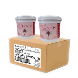 organic coconut nectar - 4kg pail - dual pack