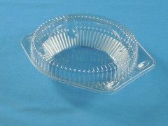 "LBH-601 6"" Pie Container - Shallow (350/Case)"