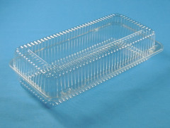 "LBH-692 Danish Deep Container, Holds 5 1/4"" x 12 1/4"" pan (200/Case) Size:  13 3/8"" x 6 3/4"" x 3 1/4"""