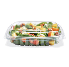 CS16SDL Placon Crystal Seal 16 oz. Shallow w Dome Lid (200/case) L 7.25 x W 6.31 x H 1.69