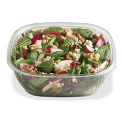 SBL-64C (CLEAR) Placon Fresh n Clear 64 oz. Clear Bowl (Lid sold separately)(150/Case) Size: L 9 x W 9 x H 2.87