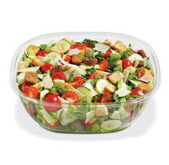 SB2X-160C (CLEAR) Placon Fresh n Clear Catering 160 oz. Clear Bowl (50/Case) Size: L 12 x W 12 x H 3.9