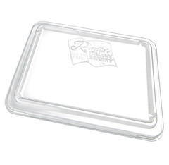 FC1-IF Placon Fresh n Clear Trays and Lids Inside-Fit Flat Lid (Tray sold separately) (360/Case)