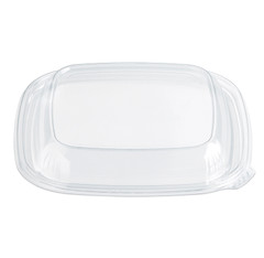 SDLM-2 Placon Fresh n Clear Bowls and Lids MEDIUM Dome Lid (300/Case) Size: L 7.5 x W 7.5 x H 1.04