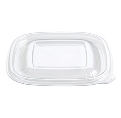 SFLS-2 Placon Fresh n Clear SMALL Flat Lid (500/Case) L 5 x W 5 x H .33