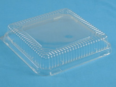 "37050525 8"" Square Dome for Foil Tray 15050 (Foil tray sold separately) (250/Case)"