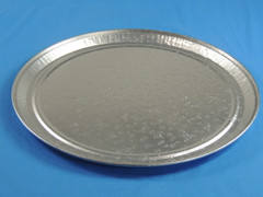 "D&W A05 18"" Embossed Flat Catering Tray/Platter (Dome sold separately) (50/Case)"