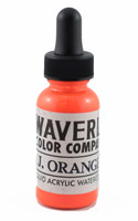 Waverly Liquid Acrylic Watercolor - Japanese Orange