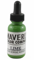 Waverly Liquid Acrylic Watercolor - Lime