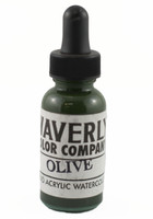 Waverly Liquid Acrylic Watercolor - Olive