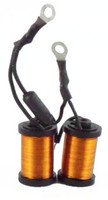 Hand wound coils 1.25 Copper and Black