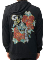 Hannya Mask Hoodies- Unisex Black