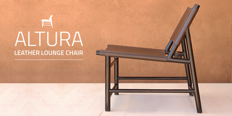 Altura Leather Lounge Chair