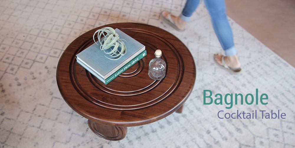 Bagnole Cocktail Table