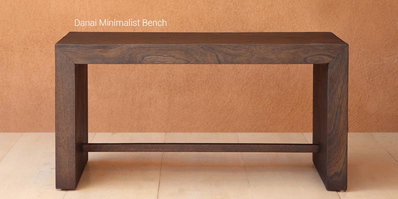 Danai Minimalist Bench