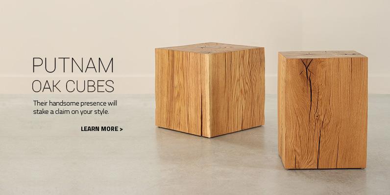 Putnam Oak Cubes