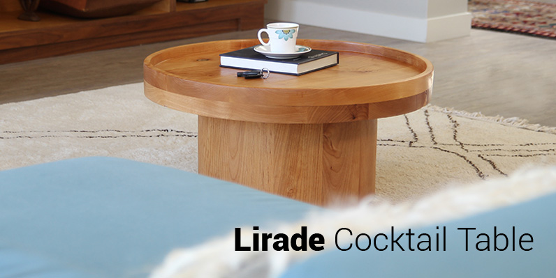 Lirade Cocktail Table