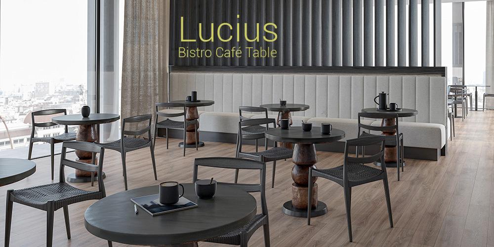 Lucius  Bistro Café Table