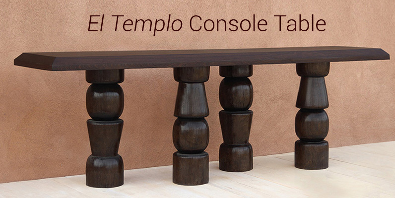 El Templo Console Table