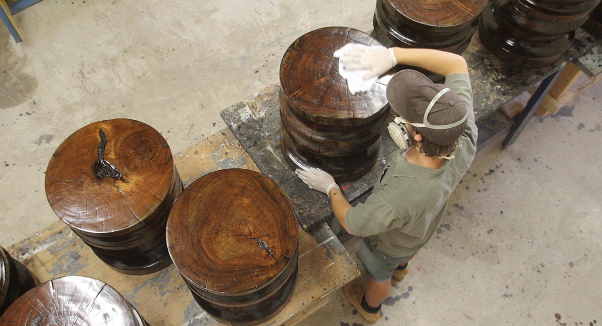 Finishing Turned Wood Tables