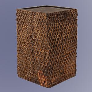 Tallado Wooden Cube