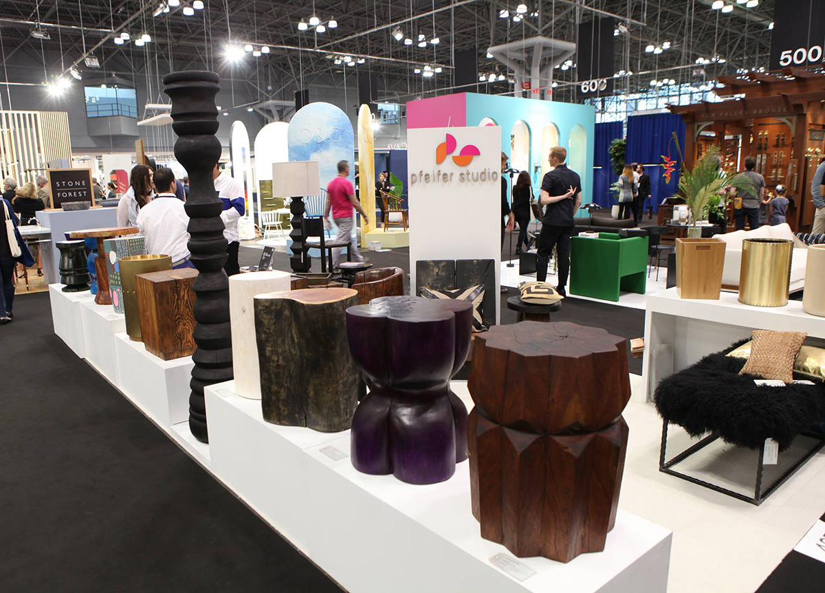 Pfeifer Studio Trade Show Booth