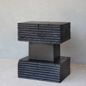 Lopez End Table 14 x 20 x 24.5 H inches Ebony Finish
