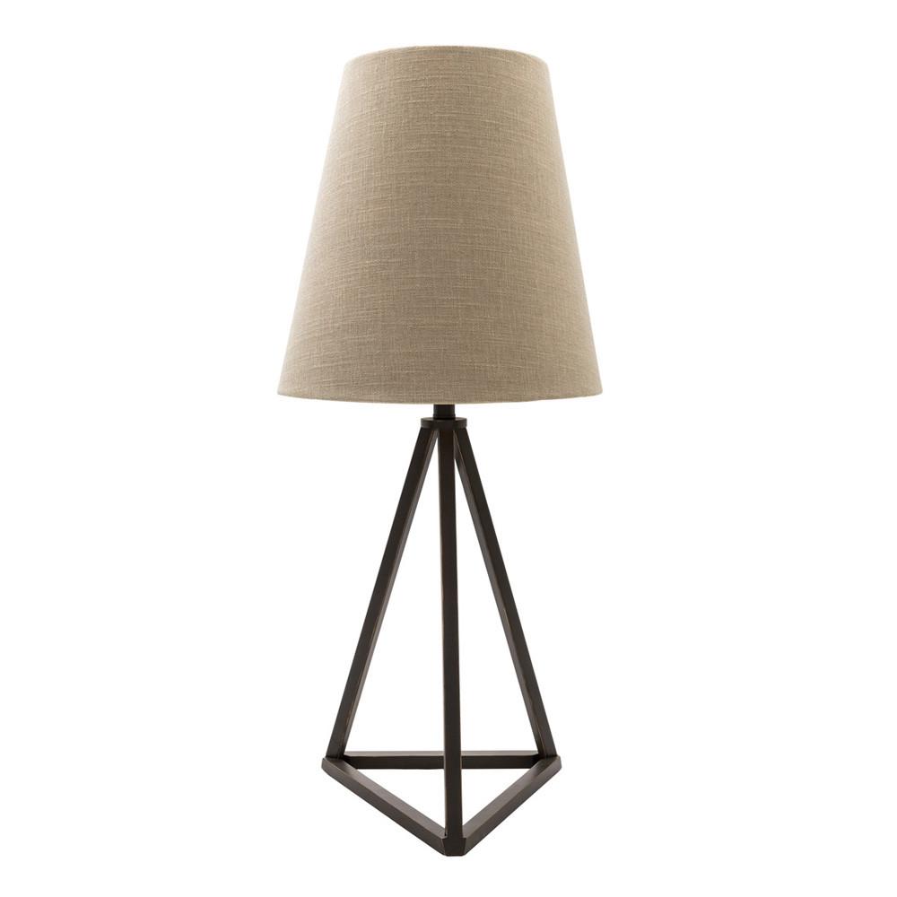 Belmont Table Lamp - BEM-200 13 dia x 30.5 H inches Metal, Linen