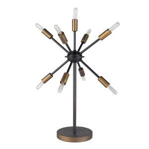 Otto Table Lamp - OTO-001 14.5 dia x 23.25 H inches Metal