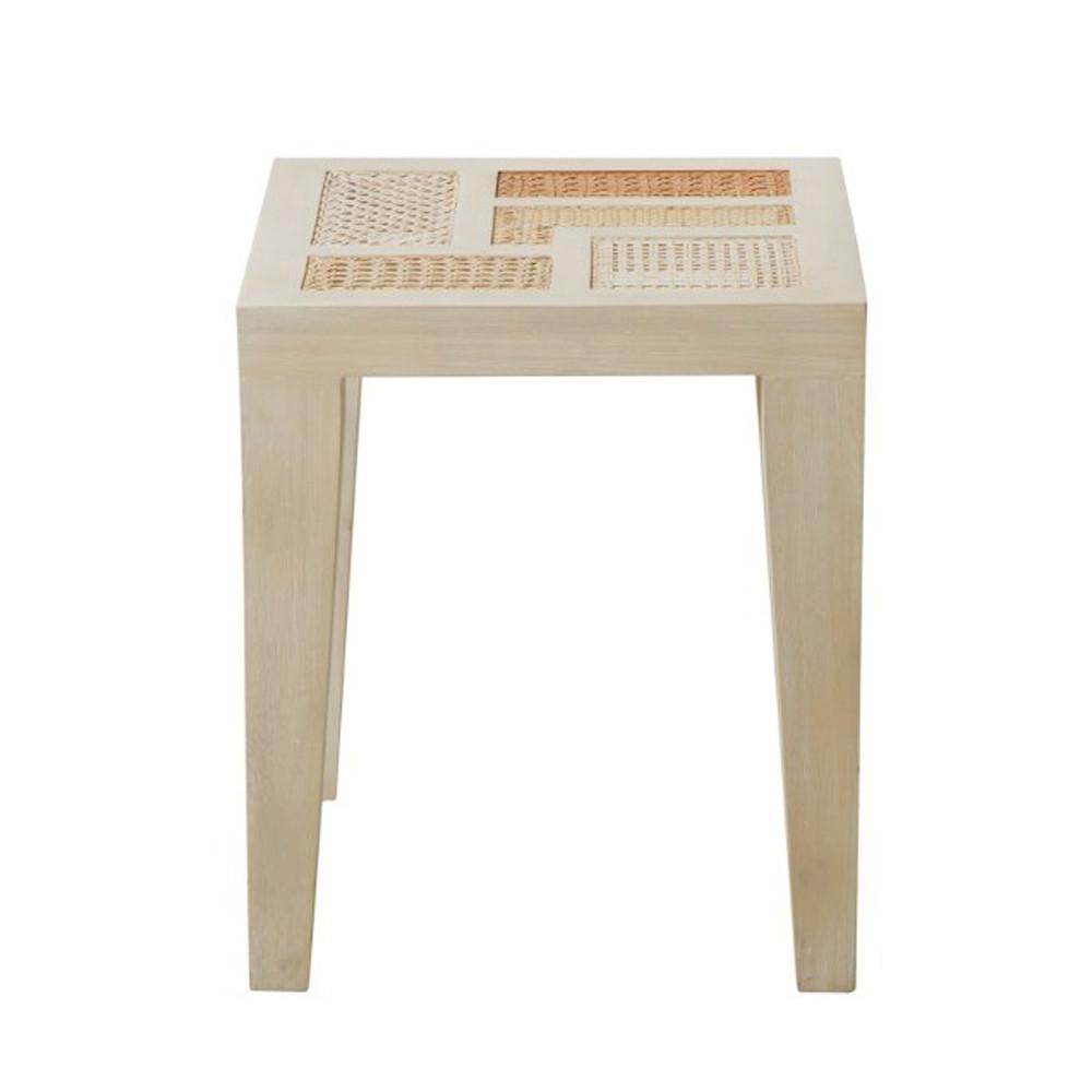 Basilisa Modern Outdoor End Table. ```