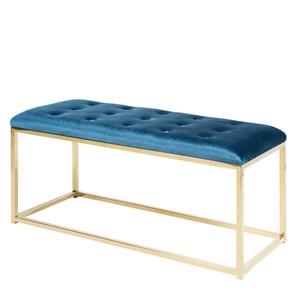 Donatella Bench - RIG-001/002 39 x 16 x 19 H inches Blue, Gold