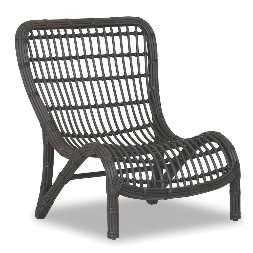 Venice Outdoor Side Chair 32 x 33 x 37 H inches Powder Coated Aluminum, Resin