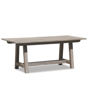 Outdoor Teak Table 39 x 79 x 29 H inches