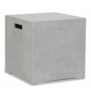 Ventura Fire Table Propane Tank Cover 20 x 20 x 20 H inches Glass Fiber Reinforced Concrete