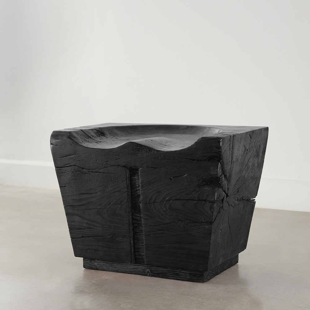 Cody Wooden Bench 16 x 24 x 18 H inches Ebony Finish Sealed Topcoat