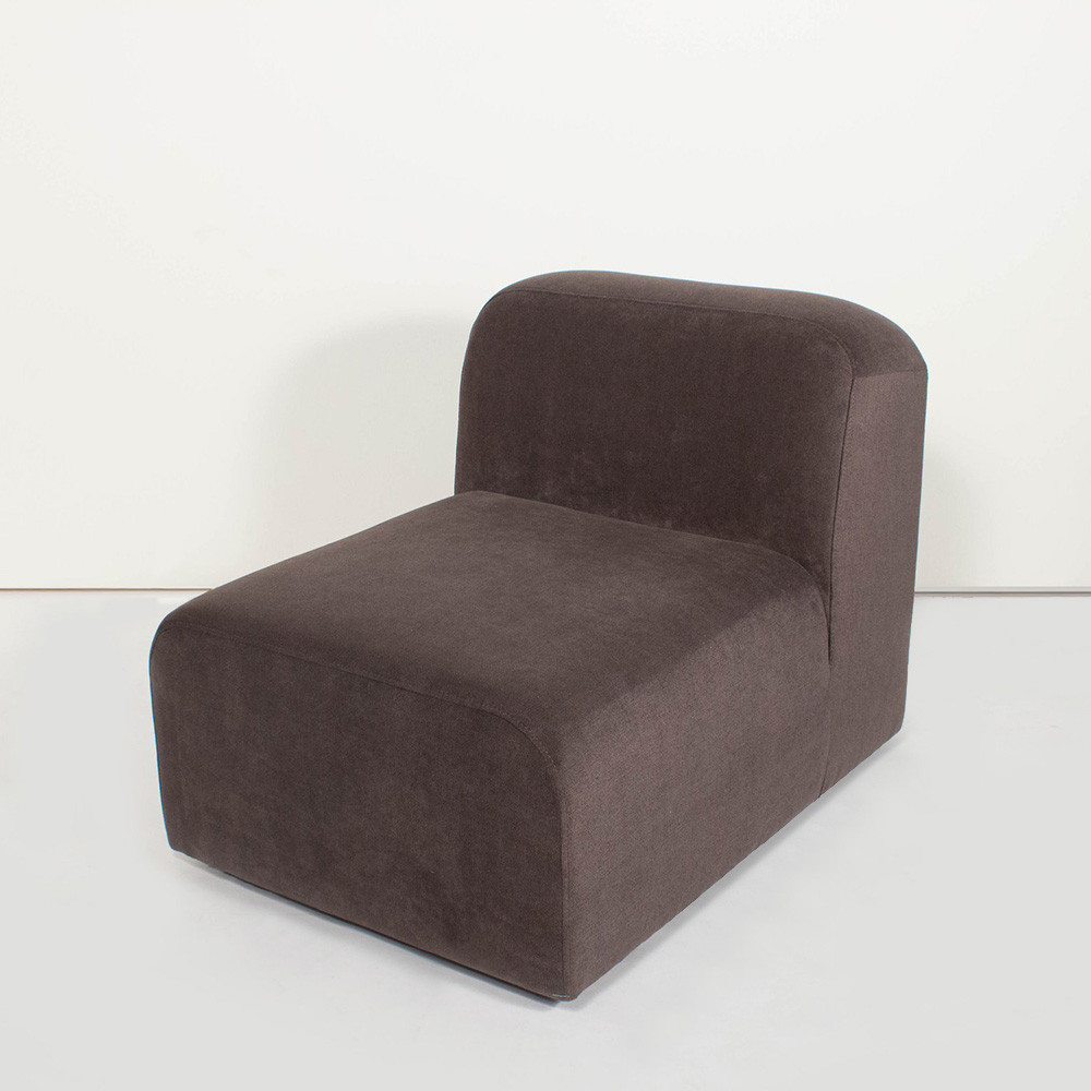 Yam Upholstered Chair 24 x 34 x 26.75 H inches Polyester Fabric