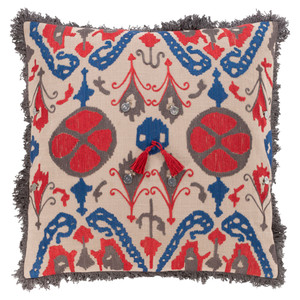 Walai Throw Pillow - WLA-001 18 x 18 inches Cotton
