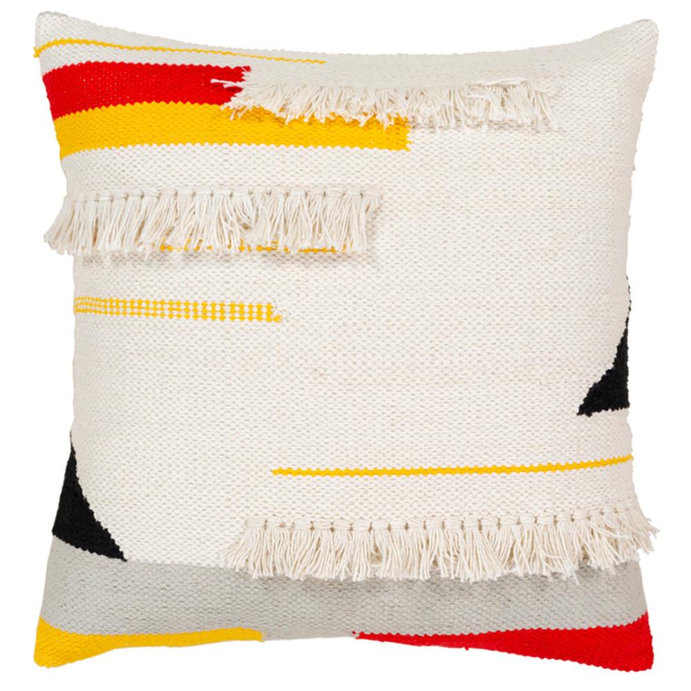 Maricita Throw Pillow - HRE-001 20 x 20 inches Cotton