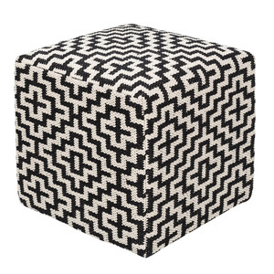 Catalina Pouf- RDPF-001 18 x 18 x 20 H inches Cotton