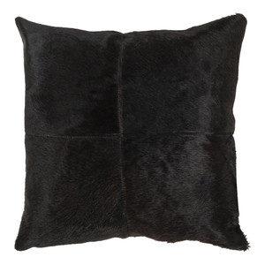 Night Cowhide Throw Pillow - DEX-002 20 x 20  Cowhide