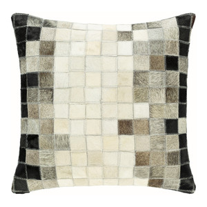 Teja Hide Pillow - FOT-001 18 x 18 inches Hair-on Cowhide