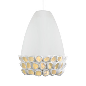 Reef Conica Pendant Lamp 12 dia x 18 H inches