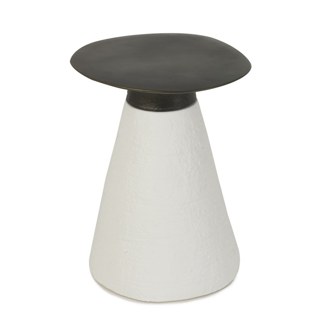 Conc Occasional Table 14.25 dia x 18 H inches