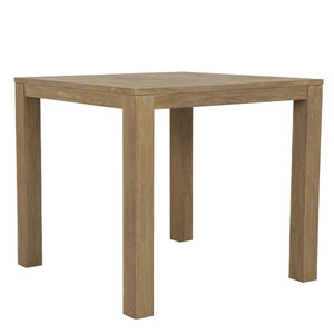 Vero Teak End Table 22 x 22 x 22 H inches Solid Teak