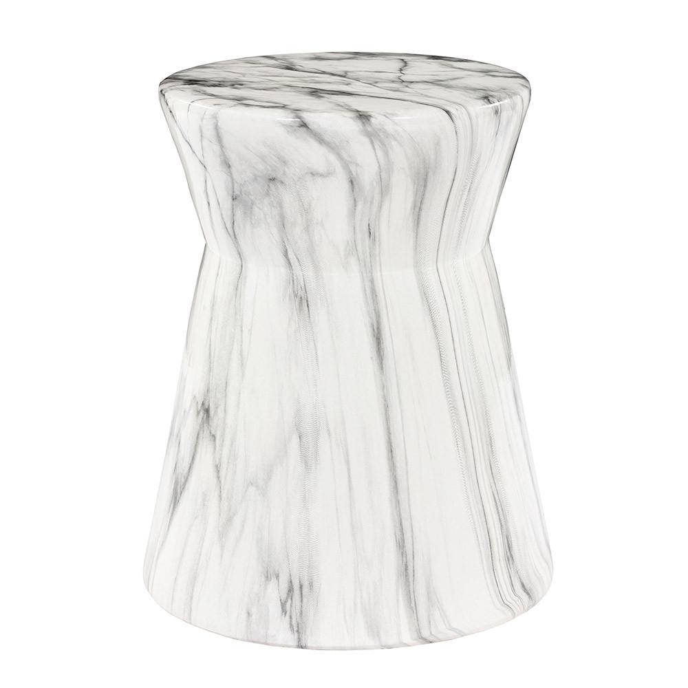Abruzzo Ceramic Garden Stool - ABU-001 15 dia x 19 H inches Ceramic