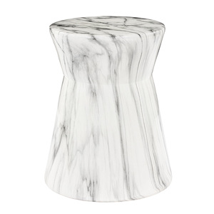 Abruzzo Ceramic Garden Stool - ABU-001 15 dia x 19 H inches Ceramic