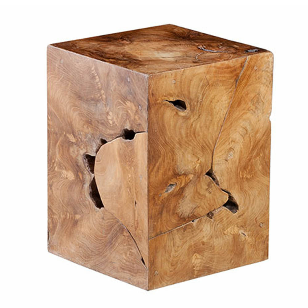 Bodhi Teak Stool Table - ID65137 11 x 11 x 16 H inches