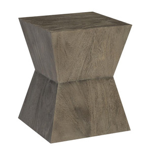 Tamsin Side Table 20 x 20 x 25 H inches Suar Wood